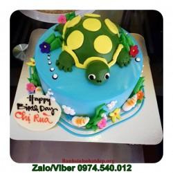 Đặt Bánh Kem Bánh Sinh Nhật Con Rùa - DV24