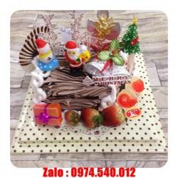 Bánh kem Noel tặng bạn gái - GS01