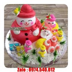 Bánh Kem Tặng Giáng Sinh Đẹp - GS10