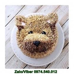 Đặt Bánh Kem Hình Con Sói - DV18